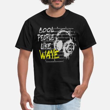 New Wave cool people like Wave - Men's T-Shirt