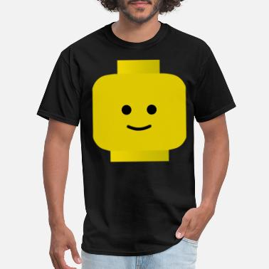 Lego LEGO Man Smiley Head CLASSIC Funny Party Nerd Geek - Men's T-Shirt