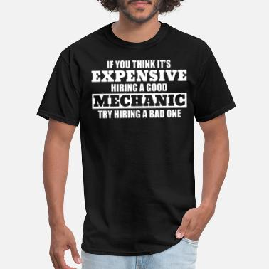 Good Bad Mechanic Car Motorcycle Tool Garage engin - Men's T-Shirt