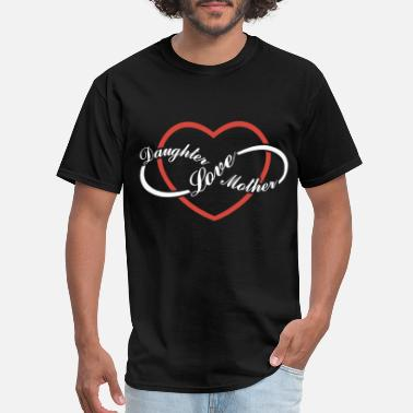 Daughters Love daughter love mother daughter t shirts - Men's T-Shirt