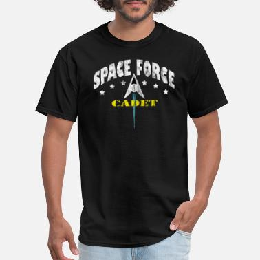 Meme Military Space Force Cadet USA Galactic Military - Men's T-Shirt