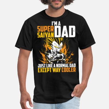 a5071d7b Dragon Ball Z dragon ball super saiyan dad majin vegeta t shirt - Men'