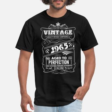 Vintage 1965 Aged To Perfection Vintage Aged To Perfection 1965 - Men's T-Shirt
