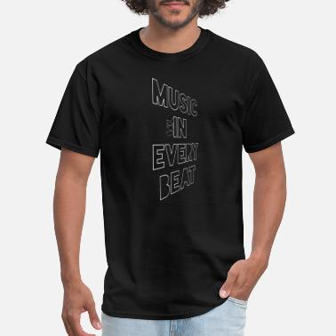 Hidden Meaning (MPB) Music In Every Beat - Men's T-Shirt