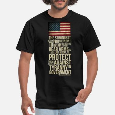 Politics righ_to_bear_arms - Men's T-Shirt