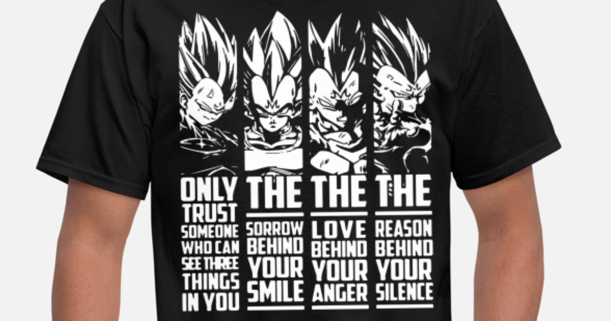 3bd9bff6 Vegeta Quote Super Saiyan God Dragon Ball Vegeta T Men's T-Shirt |  Spreadshirt