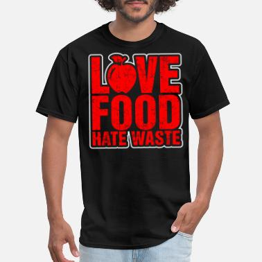 S7 Edge Love Food Hate Waste - Men's T-Shirt