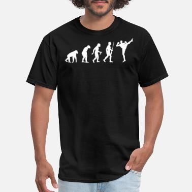 Taekwondo Evolution Kickboxer Evolution - Men's T-Shirt