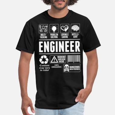 Love It Engineer Loving And Caring Engineer Tshirt - Men's T-Shirt