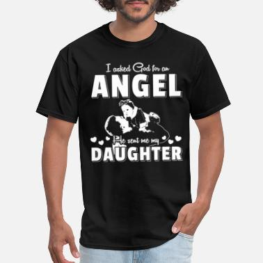 Daughter Angel Daddy's Little angel daughter - Men's T-Shirt