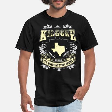 Kil. kil gore texas it s where my story begins texas - Men's T-Shirt