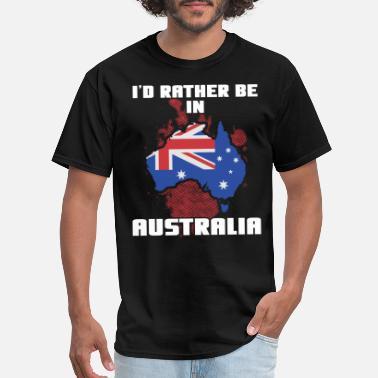 04f55c49 Country Name Australia Country Flag - Men's T-Shirt