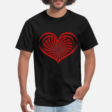 Love Heart Love hearts - Men's T-Shirt