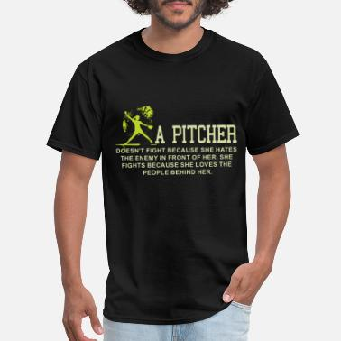 Pitcher a pitcher game t shirts - Men's T-Shirt