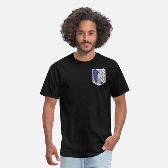 Attack T-Shirts - Attack on Titan - Men's T-Shirt black