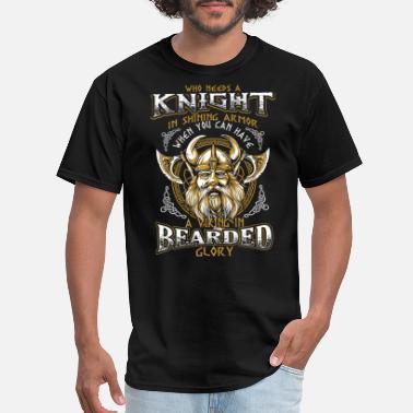 eb3bd038 Odin Bearded Glory Viking - Men's T-Shirt