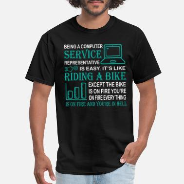 Test Definition Being A Computer Service T Shirt - Men's T-Shirt