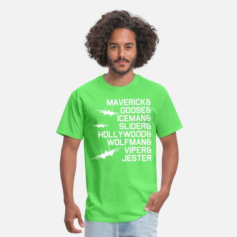 8d9b09eb3 Maverick goose iceman sliger hollywood wolfman vip Men's T-Shirt    Spreadshirt