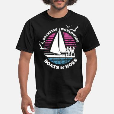 Huff Boats N Hoes Step Brothers Huff Doback Anchor - Men's T-Shirt