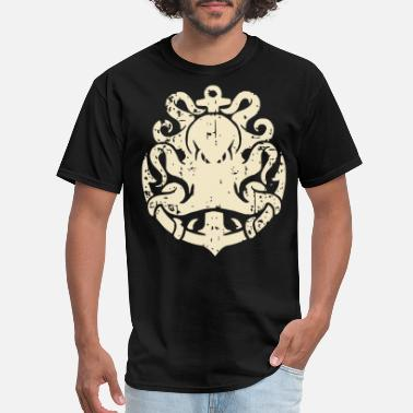 d27c0a25 Anchor Octopus Sailor Jerry Themed Anchor T Shir - Men's ...