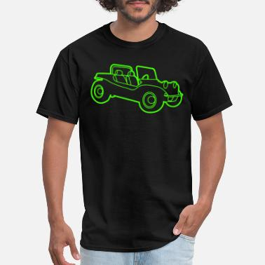 Vdub Beach Buggy Retro Cool V w Vdub Volks wagen Beetle - Men's T-Shirt