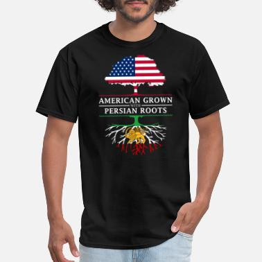 Persia American Grown with Persian Roots Persia Design - Men's T-Shirt