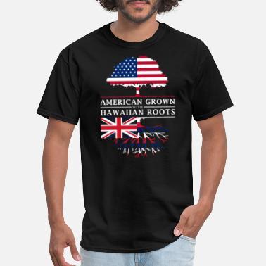 9cac9401a39c6 Hawaiian American Grown with Hawaiian Roots Hawaii Design - Men  39 s ...