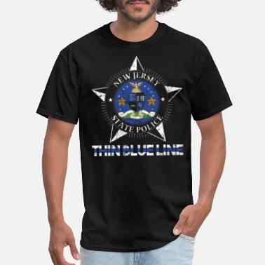 State Police Nj New Jersey State Police NJ State Police Shirt - Men's T-Shirt