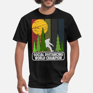 social distancing world champion - Men's T-Shirt