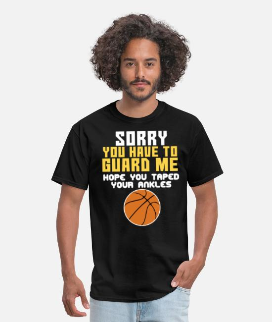 Cool Basketball T-Shirts - Awesome Trendy Style Tshirt Design Guard Me - Men's T-Shirt black