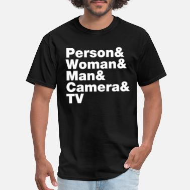 Funny 2020 Election Person Woman Man Camera TV - Men's T-Shirt