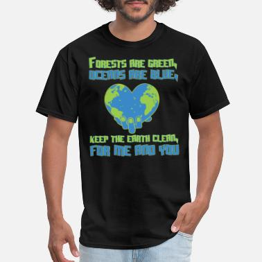 Protect Environmental protection ocean forest earth - Men's T-Shirt