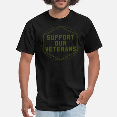 Army Mom Apparel Support Our Veterans - Men's T-Shirt