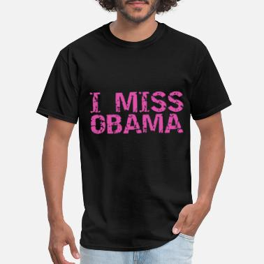 i miss obama barack obama tee america grandpa - Men's T-Shirt