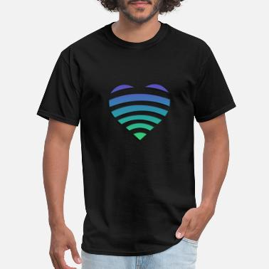 Heart Signal Online Heart - Men's T-Shirt