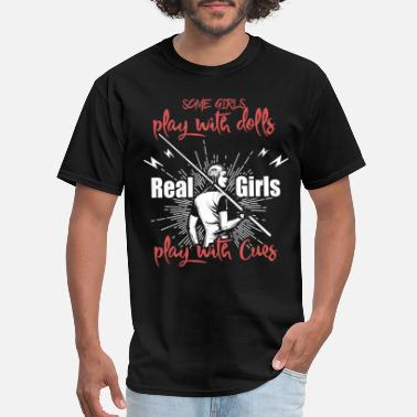 Cue Sports Billiard Girl Player Cue sport gift - Men's T-Shirt