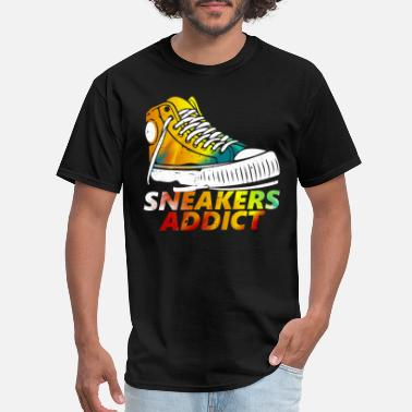 Shoe Addicted Sneakers Shoes Addict gift - Men's T-Shirt