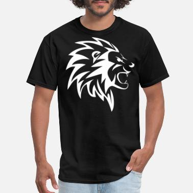 Feral Cats Feral Lion Head - Men's T-Shirt