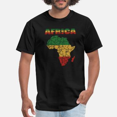 Afro African Roots Culture Afro Card Gift - Men's T-Shirt