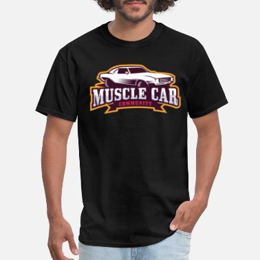 Shop Vintage Muscle Car T Shirts Online Spreadshirt