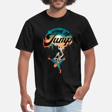 Rubber Rope Bungee Jumping - Men's T-Shirt