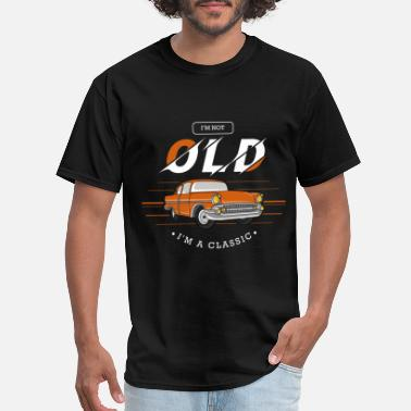 Classic Vintage car with Capital gain - Men's T-Shirt