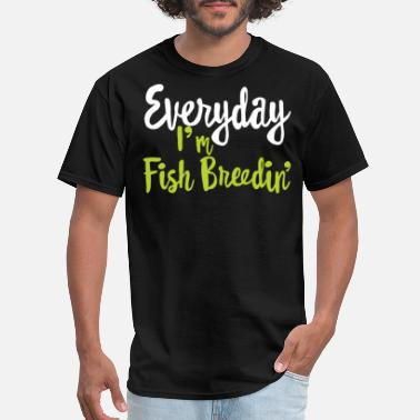 Breeding fish breeding - Men's T-Shirt