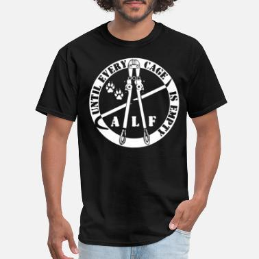 Animal Liberation Front Animal Rights Peta pig T S - Men's T-Shirt