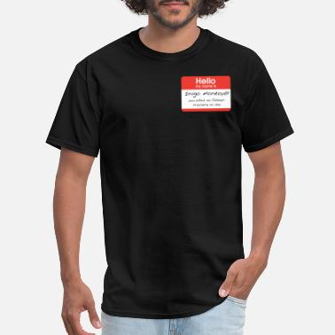 Montoya Hello My Name Is Inigo Montoya Pocket - Men's T-Shirt
