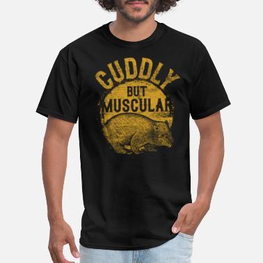 7a9029bba42 Wombat Wombat Animal Pet Animals Natural Australia - Men  39 s T-Shirt