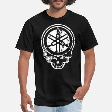 Yamaha R1 YAMAHA SKULL MOTORCYCLE FREE SHIPPING Motorcycle - Men's T-Shirt
