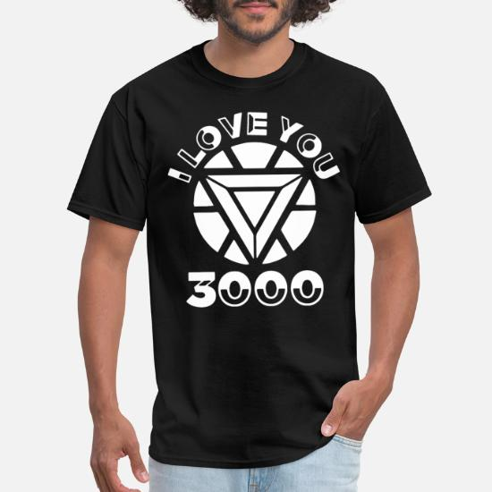 5865ab3d7138a I love you 3000 I am Iron Man marvel film supernat Men's T-Shirt ...