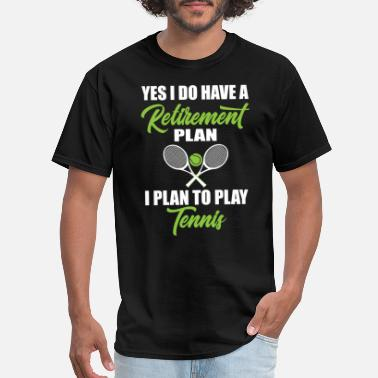 Backhand Retirement Plan - Men's T-Shirt