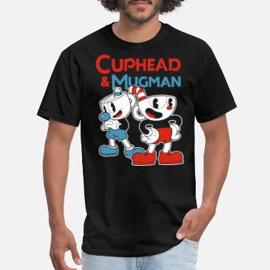 Disney Drinking cuphead mugman disney - Men's T-Shirt